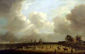 Princess Charlotte Arriving at Harwich, September 1761