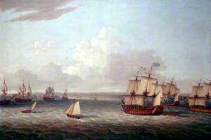 The British Fleet Entering Havana, 21 August 1762