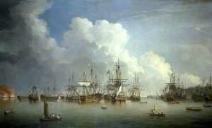 The Captured Spanish Fleet at Havana, August–September 1762