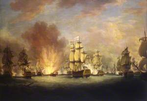 The Moonlight Battle off Cape St Vincent, 16 January 1780