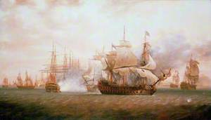 The Battle of Frigate Bay, 26 January 1782