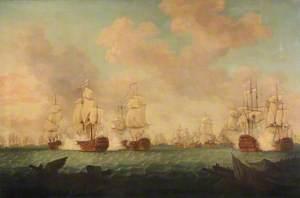 The Battle of The Saints, 12 April 1782