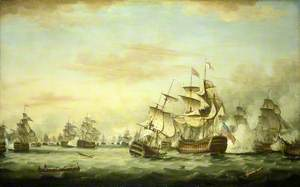 The Battle of The Saints, 12 April 1782: End of the Action