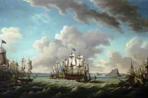 Relief of Gibraltar by Earl Howe, 11 October 1782