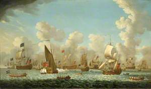 Naval Review at Spithead, 1767