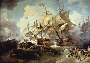 The Battle of the First of June, 1794