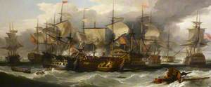 The Battle of Cape St Vincent, 14 February 1797