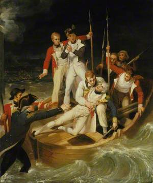 Nelson Wounded at Tenerife, 24 July 1797