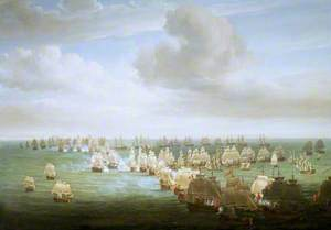 The Battle of Trafalgar, 21 October 1805: Beginning of the Action
