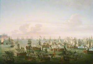 The Battle of Trafalgar, 21 October 1805: End of the Action