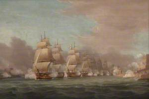Sir John Thomas Duckworth's Passage of the Dardanelles, 19 February 1807