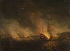 Sir John Thomas Duckworth's Action in the Dardanelles, 19 February 1807