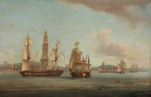 The 'Spartan's' Engagement with a Neapolitan Squadron, 3 May 1810: End of the Action
