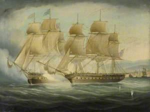 HMS 'Shannon' Taking USS 'Chesapeake', 1 June 1813