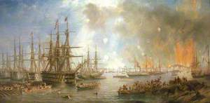 The Bombardment of Sveaborg, 9 August 1855