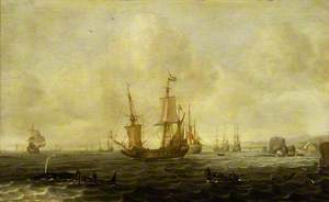 A Dutch Whaling Fleet