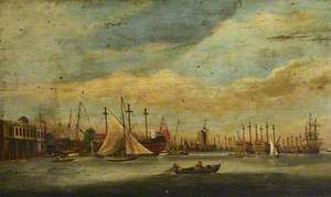 Ships Laid Up near Blackwall