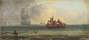 Four Sailors in a Ship's Boat