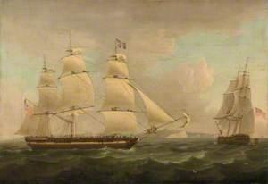 A Merchantman off Dover