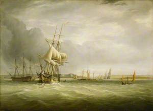 Shipping in the Bristol Channel
