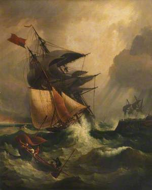 An American Ship in Distress
