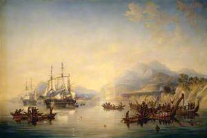 'Erebus' and 'Terror' in New Zealand, August 1841