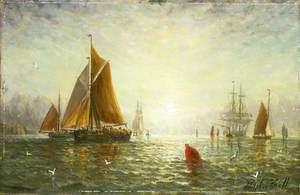 A Brixham Trawler
