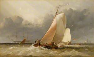 Dutch Yachting on the Zuider Zee