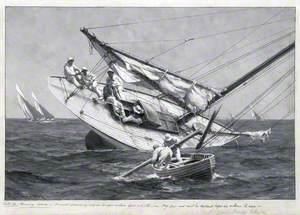 A Yacht Ashore