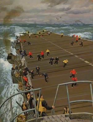 Clear Flight Deck: On Board an Aircraft Carrier