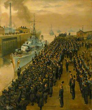 Arrival of Second Escort Group of Sloops at Liverpool