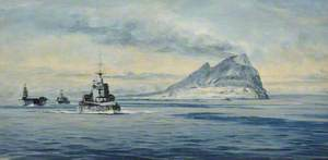 Force H off Gibraltar, 1940