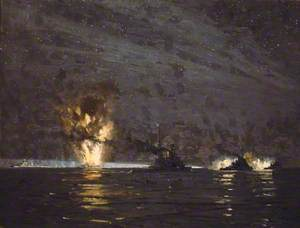 Night Action off Cape Matapan, Greece, 28 March 1941