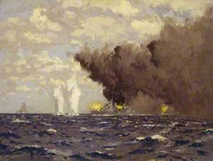 Admiral Vian's Action at the Battle of Sirte, 22 March 1942