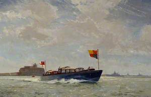 A Royal Barge