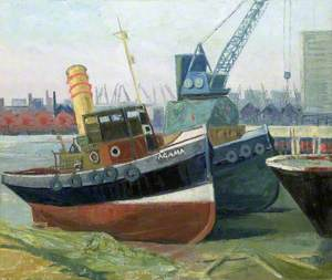 The Tug 'Agama' at Greenwich