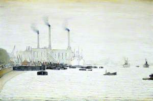 View of Deptford Power Station from Greenwich