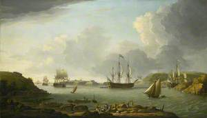 Return of a Fleet into Plymouth Harbour