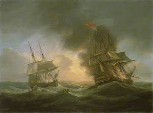 Loss of the East Indiaman 'Kent', 1 March 1825: Catching Fire