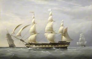 The West Indiaman 'Britannia'