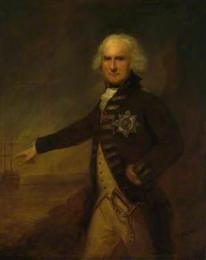 Admiral Alexander Hood (1727–1814), 1st Viscount Bridport