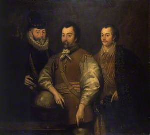 Thomas Cavendish (1560–1592), Sir Francis Drake (1540?–1596) and Sir John Hawkins (1532–1595)