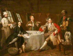 Captain Lord George Graham (1715–1747), in His Cabin