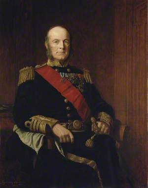 Admiral Arthur William Acland Hood (1824–1901), Baron Hood of Avalon