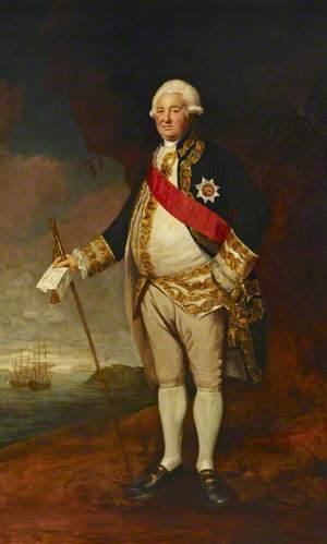 Vice-Admiral Sir Edward Hughes (c.1720–1794)