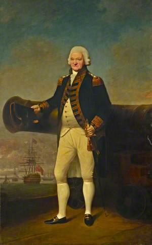 Sir Peter Parker (1721–1811), Bt, Admiral of the Fleet
