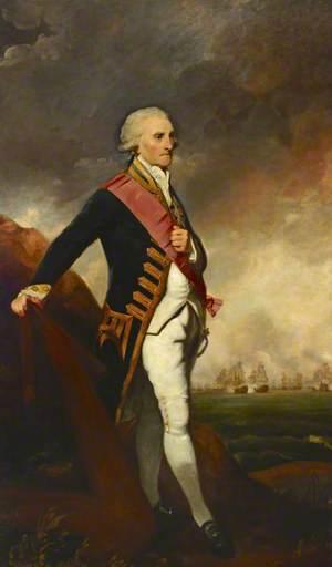 Admiral Lord George Brydges Rodney (1719–1792), 1st Baron Rodney