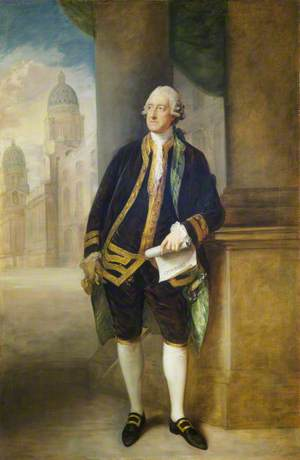 John Montagu (1718–1792), 4th Earl of Sandwich, 1st Lord of the Admiralty