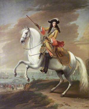 William III Landing at Brixham, Torbay, 5 November 1688