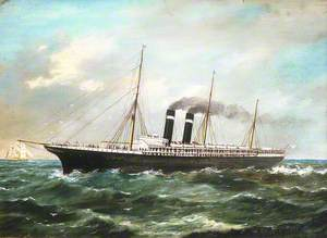 The Steamship 'City of New York'